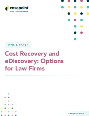 Cost Recovery  White Paper